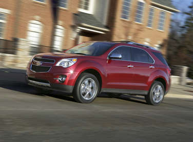 2012 Chevrolet Equinox Returns With Same Great Fuel