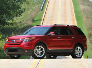 2012 Ford Explorer Has the Edge in Fuel Economy
