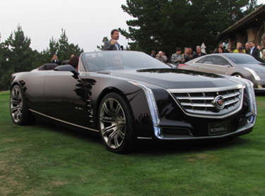 cadillac debuts ciel four door convertible concept. Black Bedroom Furniture Sets. Home Design Ideas