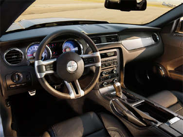 the 2012 ford mustang can be loaded with features