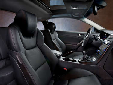 The 2011 Hyundai Genesis Coupe Brings With It An Improved Interior