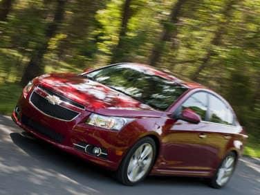 2012 Chevrolet Cruze: Driving Impressions