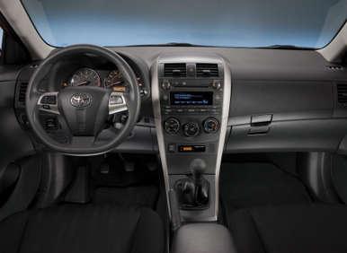2012 Toyota Corolla: Interior Design And Roominess
