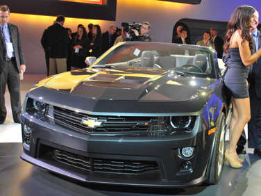 2011 L.A. Auto Show Debut: 2013 Chevrolet Camaro ZL1 Convertible ...