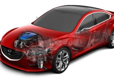Mazda3 to Get Capacitor-based Regnerative Braking?