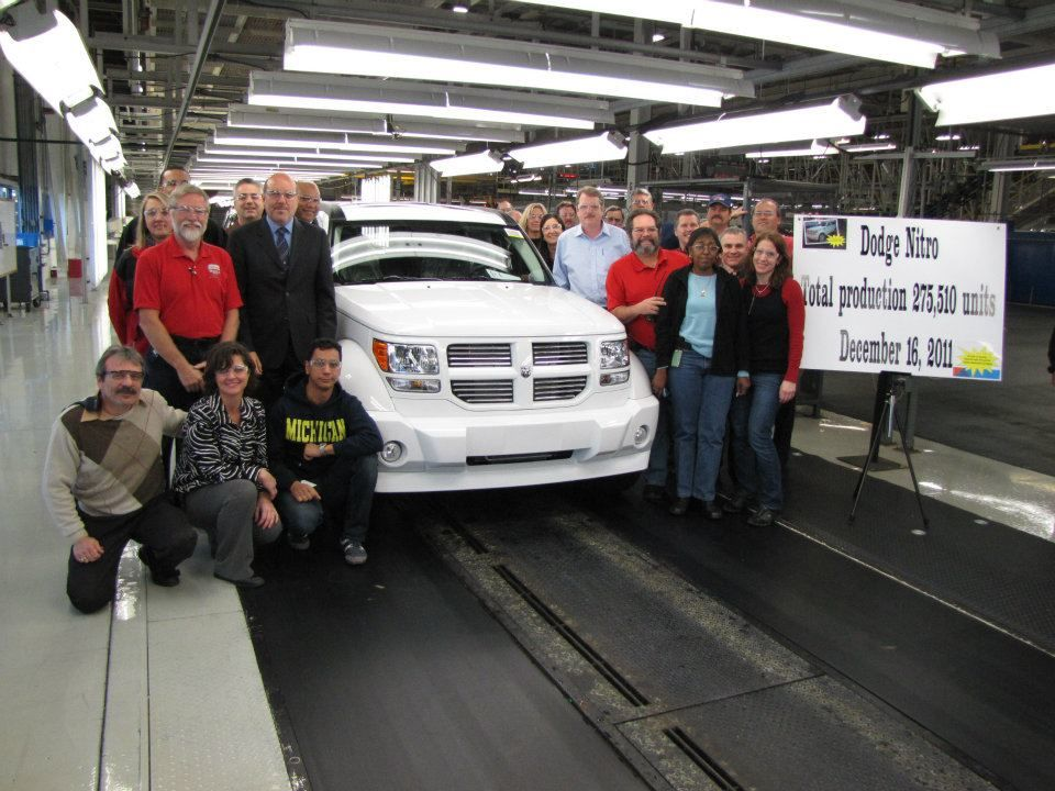 Final Dodge Nitro Rolls Off the Assembly Line