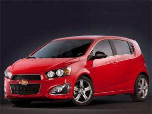 The Top 3 Competitors to the 2013 Chevrolet Sonic RS