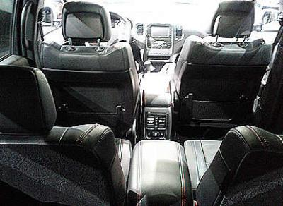 Dodge Durango Goes First Class With Second Row Captain S Chairs Autobytel Com