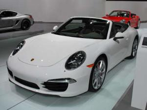 Detroit Update - 2012 Porsche 911 Cabriolet World Premier