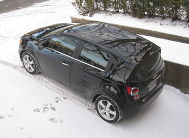 2012 chevrolet sonic ltz turbo road test and review. Black Bedroom Furniture Sets. Home Design Ideas