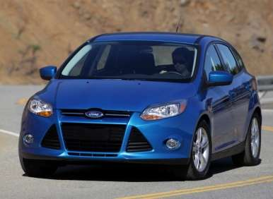 Ford Focus Titanium to Offer Five-speed Manual Transmission