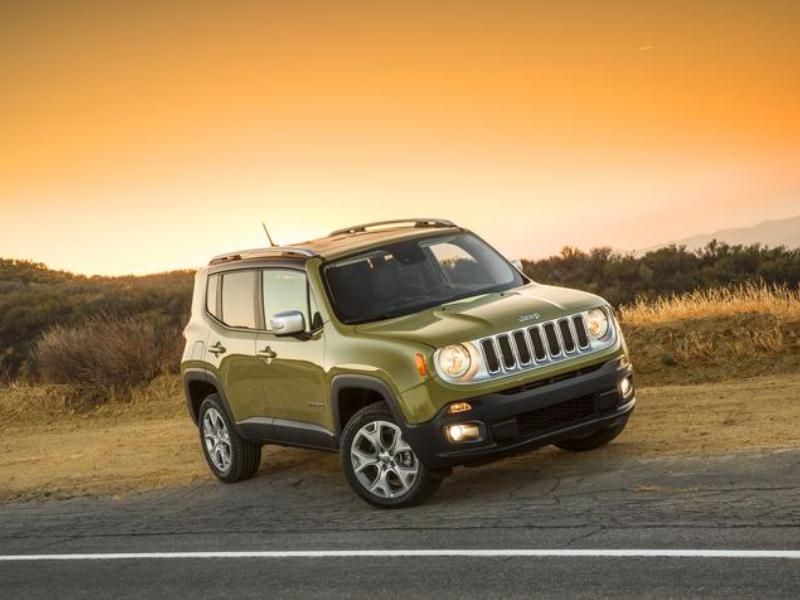 Jeep Renegade Commando Green