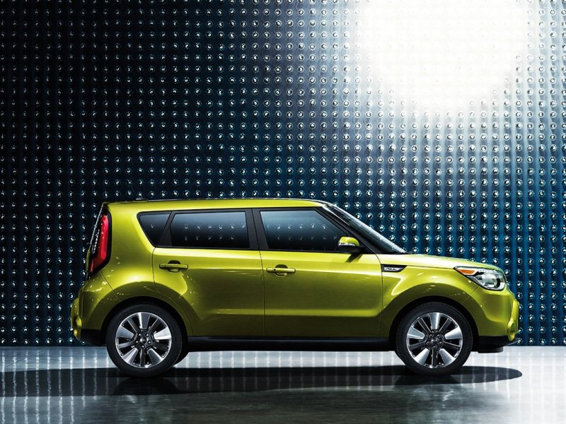 Kia Soul Alien Green