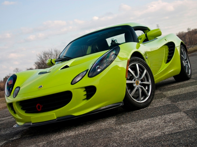 Awesome Lotus Elise   Krypton Green