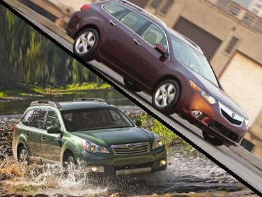 Clash Of The Wagon Titans Acura TSX Sport Wagon Vs - Used acura wagon
