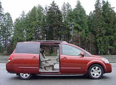 Nissan Quest Minivan 2004