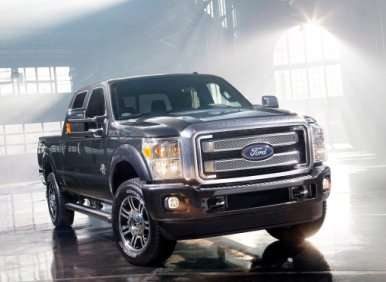 Ford Makes 2013 Super Duty Lineup More Lux-Laden and Tech-Savvy with New Platinum Edition