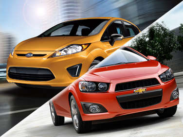 2012 Ford Fiesta vs. 2012 Chevrolet Sonic