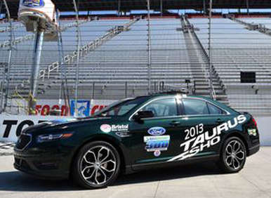 Bristol Lucky Day Contest Giving Away 2013 Ford Taurus SHO Pace Car