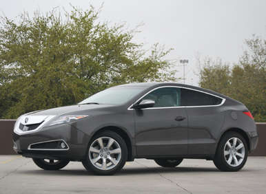 2012 Acura ZDX Road Test and Review   Autobytel.com