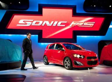 New York Auto Show Preview: 2013 Chevy Sonic, Spark Go with GogoLink for Navigation