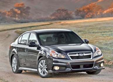 New York Auto Show Preview: More Power and Efficiency for 2013 Subaru Legacy