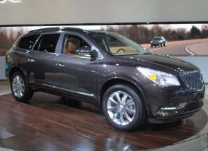 2013 Buick Enclave Offers Subtle Changes, Remains Classy At New York Auto Show