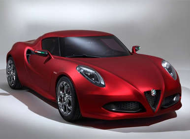 Alfa Romeo Readies Return to U.S. With Sporty New 4C Coupe
