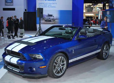 2013 Ford Shelby GT500 Officially Rated at 662 hp