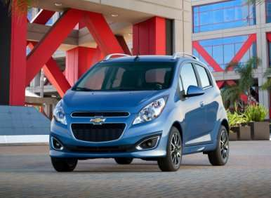2013 Chevrolet Spark is Small in Size, Big on Fuel Efficiency