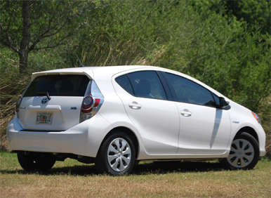 2012 Toyota Prius C Review: Pricing And Trim Levels