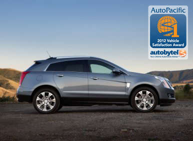 Top-Rated Luxury Crossover SUV Autobytel & AutoPacific Consumer Award