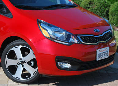 2012 Kia Rio SX Sedan Road Test and Review