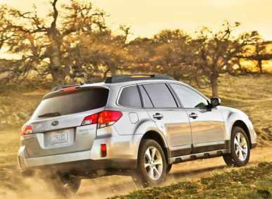 2013 Subaru Outback Sips Fuel, Shows Off New Look At New York Auto Show