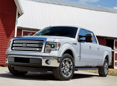 2013 Ford F-150 Debuts in Texas