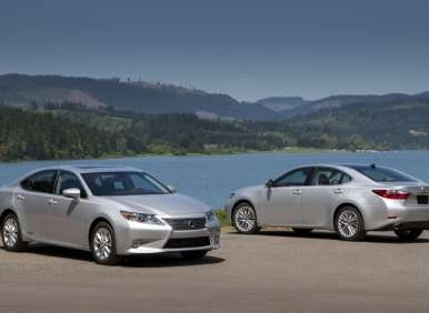 2013 lexus es first drive review. Black Bedroom Furniture Sets. Home Design Ideas