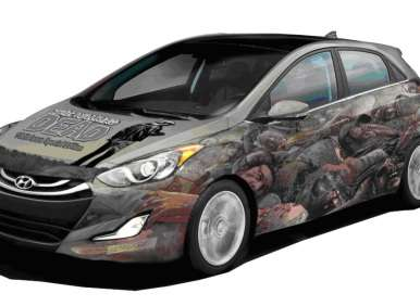 2013 Hyundai Elantra Coupe Zombie Survival Machine to Debut in July