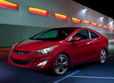2013 Hyundai Elantra Coupe to Debut with $17,445 Starting Price