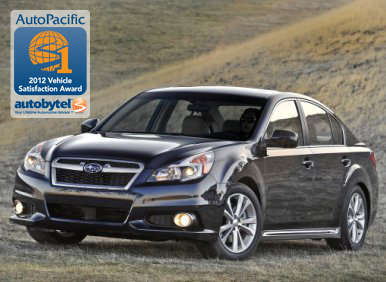 Top-Rated Mid-Size Car AutoPacific & Autobytel Consumer Award