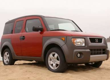 honda element used suv buying guide. Black Bedroom Furniture Sets. Home Design Ideas