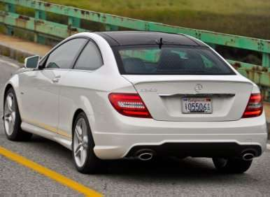 10 things you need to know about the 2012 mercedes benz c class coupe. Black Bedroom Furniture Sets. Home Design Ideas