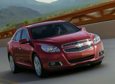 First Look: 2013 Chevrolet Malibu