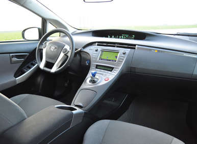 2012 Toyota Prius Plug In Review: Interior