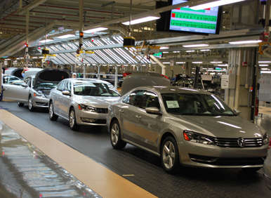 VW Announces Third Shift in Chattanooga for Volkswagen Passat Production