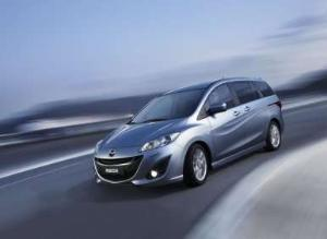 Fast Five: Best Minivans to Buy for 2012