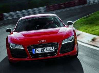 Audi R8 e-tron Does the 'Ring Thing in Record Time