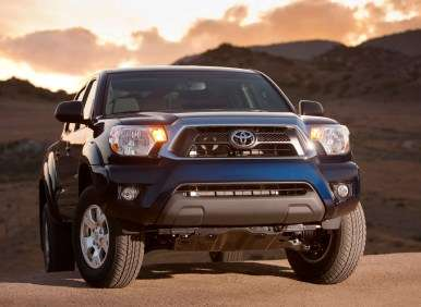 The Toyota Tacoma and California Vehicle Sales