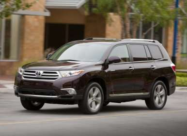 2012 Toyota Highlander Road Test and Review