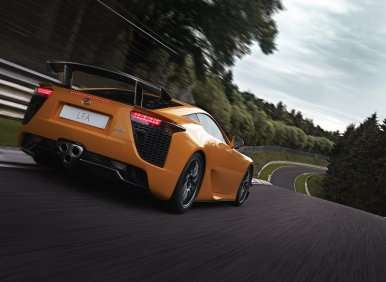 2012's Top Ten Fastest Production Sports Cars