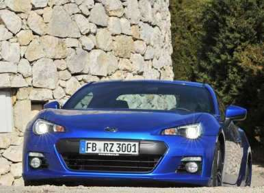 New 2013 subaru brz outperforms most sporty cars in gas mileage styling 2013 subaru brz sciox Gallery